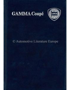 1979 LANCIA GAMMA COUPE HARDCOVER BETRIEBSANLEITUNG ENGLISCH