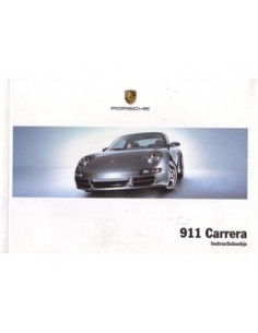 2006 PORSCHE 911 CARRERA OWNERS MANUAL DUTCH