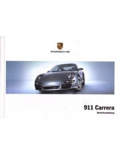 2005 PORSCHE 911 CARRERA OWNERS MANUAL HANDBOOK GERMAN