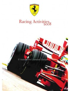 2008 FERRARI RACING ACTIVITIES YEARBBOOK ITALIAN / ENGLISH