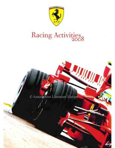 2008 FERRARI RACING ACTIVITIES JAHRBUCH ITALIENISCH / ENGLISCH