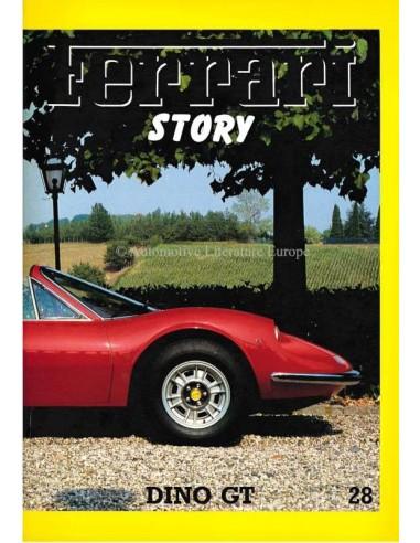 1992 FERRARI STORY DINO GT MAGAZINE 28 ENGLISH / ITALIAN
