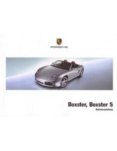 2008 PORSCHE BOXSTER & S INSTRUCTIEBOEKJE DUITS