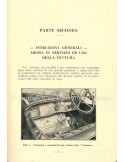 1927 ALFA ROMEO R.L. TOURING & SUPERSPORTS OWNERS MANUAL ITALIAN