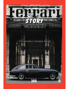 1986 FERRARI STORY 166 MAGAZINE 9 ENGLISH / ITALIAN