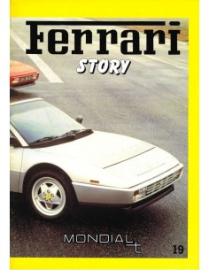 1989 FERRARI STORY MONDIAL T MAGAZINE 19 ENGELS / ITALIAANS