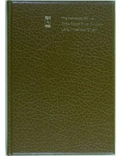 1973 ROLLS ROYCE SILVER SHADOW LONG WHEELBASE SALOON INSTRUCTIEBOEKJE ENGELS
