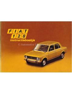 1971 FIAT 128 OWNERS MANUAL DUTCH