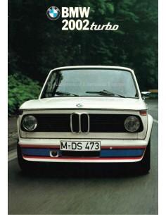 1974 BMW 2002 TURBO BROCHURE ITALIAANS
