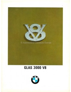 1967 GLAS 3000 V8 BROCHURE ITALIAANS