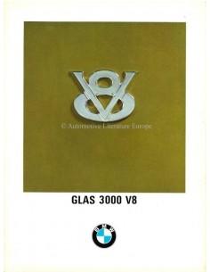 1967 GLAS 3000 V8 BROCHURE ITALIAN