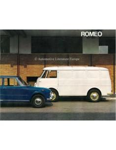 1966 ALFA ROMEO ROMEO PROSPEKT ITALIENISCH