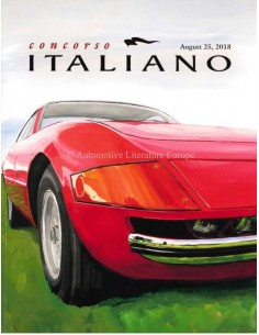 2018 CONCORSO ITALIANO MAGAZINE ENGLISH
