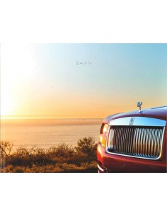 2018 ROLLS ROYCE DAWN HARDBACK BROCHURE ENGLISH