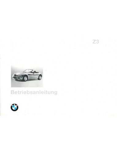 1996 BMW Z3 ROADSTER INSTRUCTIEBOEKJE DUITS