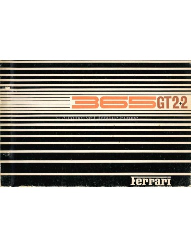 1968 FERRARI 365GT 2+2 ERSATZTEILKATALOG