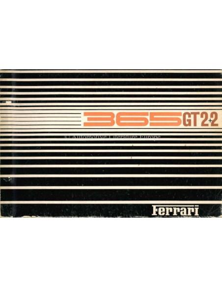 1968 FERRARI 365GT 2+2 ONDERDELENHANDBOEK