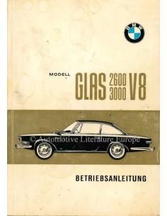 1967 GLAS 2600 / 3000 V8 BETRIEBSANLEITUNG DEUTSCH