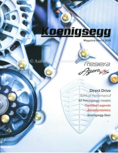 2015 KOENIGSEGG MAGAZINE ENGLISH
