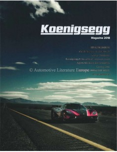 2018 KOENIGSEGG MAGAZINE ENGELS