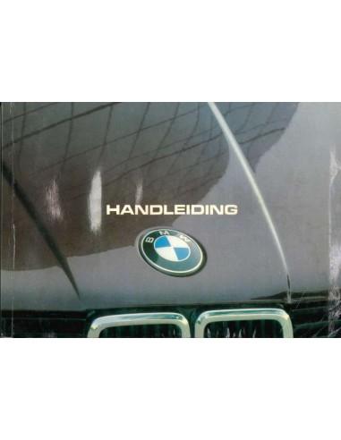 1982 BMW 3 SERIE INSTRUCTIEBOEKJE NEDERLANDS