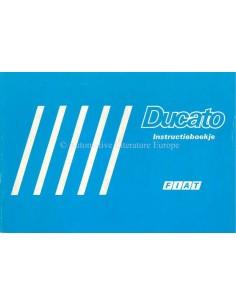 1986 FIAT DUCATO OWNERS MANUAL DUTCH