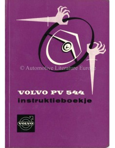 1961 VOLVO PV 544 OWNERS MANUAL DUTCH