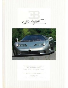 1992 EB ETTORE BUGATTI HARDBACK MAGAZINE 3 ENGLISH
