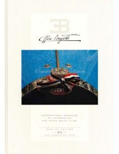 1993 EB ETTORE BUGATTI HARDBACK MAGAZINE 5 ENGLISH