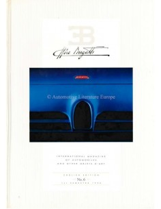 1994 EB ETTORE BUGATTI HARDBACK MAGAZINE 6 ENGLISH
