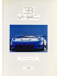 1992 EB ETTORE BUGATTI HARDBACK MAGAZINE 2 ENGLISH