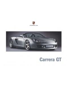 2000 PORSCHE CARRERA GT HARDCOVER PROSPEKT DEUTSCH / ENGLISCH