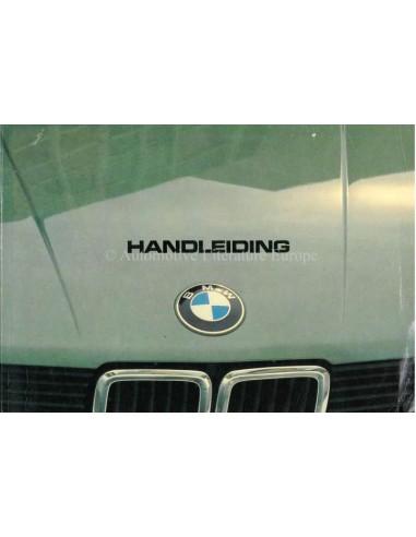 1982 BMW 5 SERIE INSTRUCTIEBOEKJE NEDERLANDS