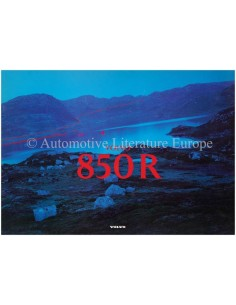 1996 VOLVO 850 R BROCHURE DUTCH