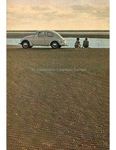 1967 VOLKSWAGEN BEETLE BROCHURE DUTCH