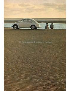 1967 VOLKSWAGEN BEETLE BROCHURE DUTCH