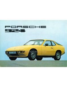 1976 PORSCHE 924 PROSPEKT