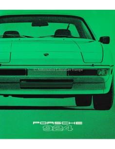 1979 PORSCHE 924 BROCHURE ENGLISH (US)