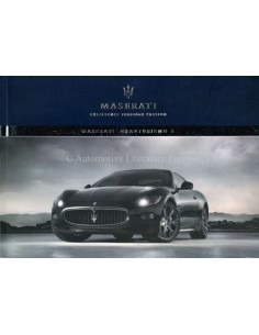2009 MASERATI GRANTURISMO S OWNERS MANUAL FRENCH