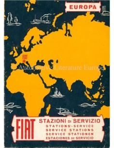 1969 FIAT SERVICE STATIONS EUROPE HANDBOOK