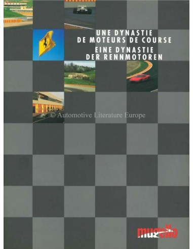 1993 FERRARI MUGELLO BROCHURE FRENCH / GERMAN