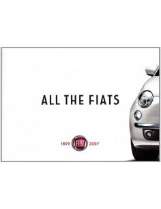 ALL THE FIATS 1899 - 2007 AUTOBOEK