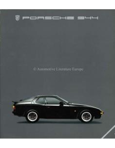 1985 PORSCHE 944 BROCHURE DUITS