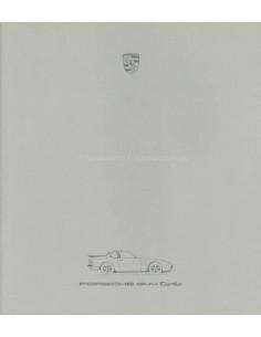 1986 PORSCHE 944 TURBO PROSPEKT ENGLISCH