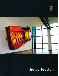 2003 LAMBORGHINI THE COLLECTION BOEK ITALIAANS ENGELS