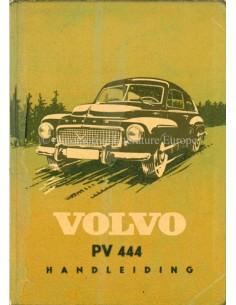 1957 VOLVO PV 444 INSTRUCTIEBOEKJE NEDERLANDS