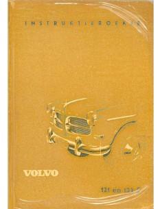 1959 VOLVO 121 / 122 S INSTRUCTIEBOEKJE NEDERLANDS