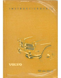 1959 VOLVO 121 / 122 S OWNERS MANUAL DUTCH