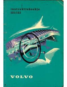 1962 VOLVO 121 / 122 BETRIEBSANLEITUNG NIEDERLÄNDISCH
