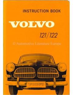 1962 VOLVO AMAZON 121/122 INSTRUCTIEBOEKJE ENGELS